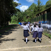 <p>Thirteen Jesuit students and chaperones Laura Coleman, P '17 and Carmelo LoSauro '10 served the students of the Valley of the Angels school for disadvantaged youths outside of Guatemala City in early June 2019.</p>