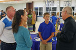 <p>Jesuit High School opened its campus Tuesday (Nov. 5) for Open House 2019, welcoming prospective students in the Class of 2024 and their families for a wonderful evening. More than 1,000 visitors walked Jesuit's beautiful 40-acre campus, and met the students, faculty, and staff of the institution that has been forming young men in the Tampa Bay area since 1899.</p>