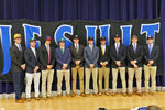 <p>Thirteen student-athletes in Jesuit's Class of 2020, including 10 members of the 2019 State Championship baseball team, signed with the college of their choice during an early morning signing ceremony on Nov. 13 in the MPR.</p><p><strong>Ethan Basile – Northern Iowa – wrestling<br> Zach Board – North Florida – soccer<br> Alex Bryant – Holy Cross – baseball<br> </strong><strong>Joe Casale – Adrian College – baseball<br> Justin Clark – West Virginia – baseball<br></strong><strong>Aidan Gingell – Belmont Abbey – wrestling<br> Bennett Lee – Tulane – baseball</strong><strong><br> Josh Mallitz – Ole Miss – baseball</strong><strong><br> Camden Minacci – Wake Forest – baseball</strong><strong><br> Henry Politz – Holy Cross – baseball</strong><strong><br> Tripp Russo – Adrian College – baseball<br> Jonathan Shoop – Butler – baseball</strong><strong><br> Turner Thompson – Tulane – baseball</strong></p>