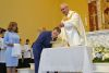 <p>Jesuit High School president Fr. Richard C. Hermes, S.J. celebrated a special Mass in the Chapel of the Holy Cross on June 19, during which three students were baptized – Rory Ramirez '21, Caleb Williams '22, and Gavin Young '23 – and four were received into full communion with the Catholic Church, Dylan Callaghan '21, Bennett Lee '20, Sam Lennon '20, and Lawson McLeod '22. </p>