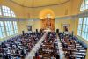<p>The annual President's Circle Mass was celebrated in the Chapel of the Holy Cross on Aug. 30, 2020.</p>
