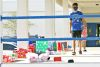 <p>The Jesuit service club Agmen Christi provides personalized Christmas gifts for migrant children in east Hillsborough County each year. Club members met with migrant families on Dec. 6, 2020 to deliver the gifts for this Christmas.</p>
