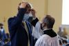 <p>Jesuit celebrated Mass twice on Ash Wednesday (Feb. 17), with half of the student body in the Chapel of the Holy Cross in the morning, and the other half in the afternoon.</p>