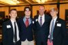 <p>The Jesuit Dads' Club hosted its 15th annual Men for Others Dinner on March 21, 2021 at the Hilton Tampa Downtown. Mike Donovan, P '20 was given the Michael G. Songy Award by Dads' Club president Brian Smith '87, seniors Andrew Garateix '21 and John Barreto '21 gave the student presentations, and Catholic radio host Gus Lloyd, P '13, '14 was the Keynote Speaker.</p>