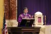 <p>Fr. Angel Rivera-Fals, S.J. celebrated Mass in the Chapel of the Holy Cross on Spy Wednesday, March 31, 2021. </p>