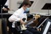<p>Jesuit's award-wining musicians in the percussion ensemble, guitar ensemble, advanced band, chamber orchestra, beginning band, and choir, under the direction of Nina Wegmann and Dominick DiCarlo, performed the Spring Music Concert on April 17.</p>