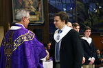 <p>Jesuit inducted 74 members of the Class of 2017 into National Honor Society at the NHS Induction Mass on Feb. 24, 2016.</p>