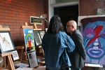 <p>Four Jesuit High School artists -- Victor Bufano '16, Jordan Lassiter '16, Caleb McNamara '16, and Tommy Shaffer -- and had their work appraised and auctioned at the Artists in Action student-run charity fundraiser event on Feb. 19 at the Anderson House. </p>