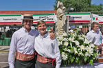 <p>The Jesuit service club Agmen Christi again served at Festa Italiana in Ybor City, as altar servers at Mass and then assisting with the procession of the statute of the Holy Family.</p>